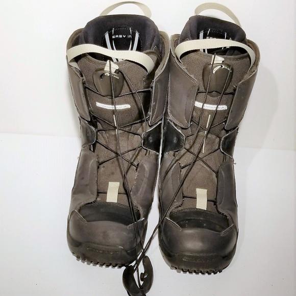 349a3ce38ce7 SALOMON Mens Solace Autofit Snowboard Boots Sz 10.  M 5bb1b223c89e1d2c6267b68f